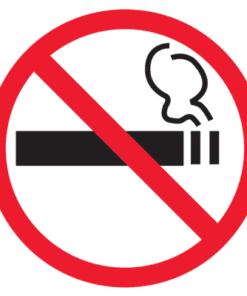 Единый утвержденный знак о запрете курения