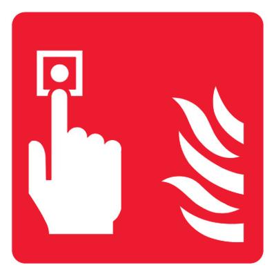 Знак Включение системы пожарной автоматики
