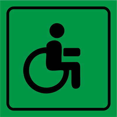 Знак Доступность для МГН всех групп мобильности