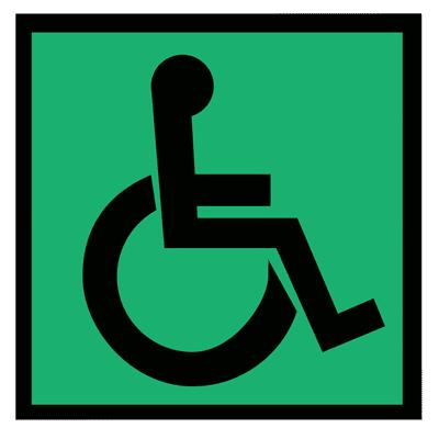 Знак Доступность для инвалидов всех категорий