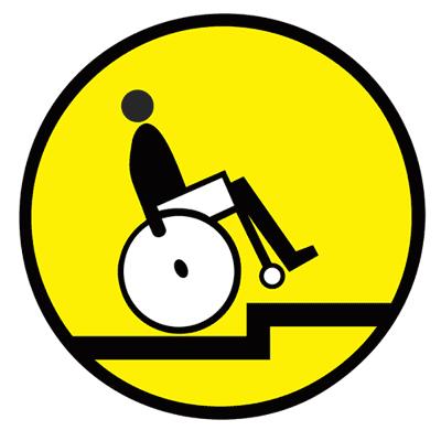 Знак Осторожно! Выступ бортового камня