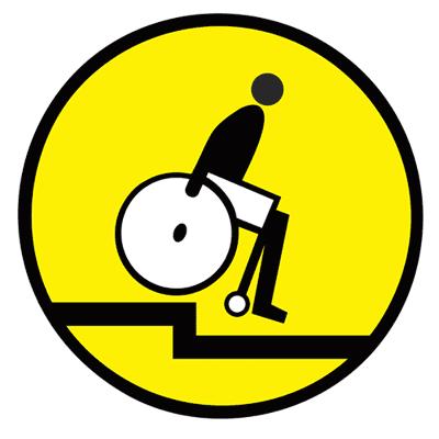 Знак Осторожно! Уступ бортового камня