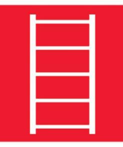 Знак Пожарная лестница (F03)
