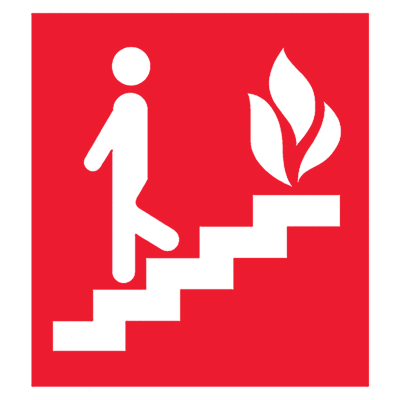 Знак Пожарный выход (2)