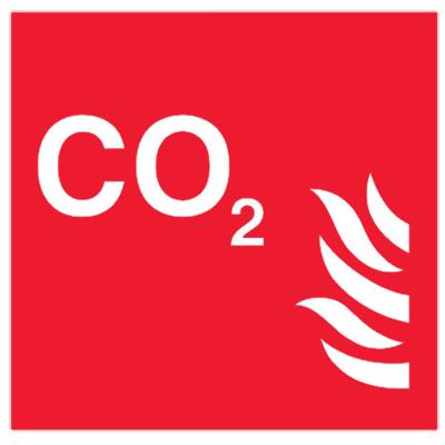 Знак СО2