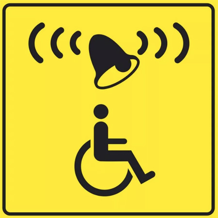 Знак вызова для инвалидов