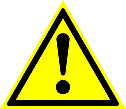 Знак для строительной площадки Внимание опасность