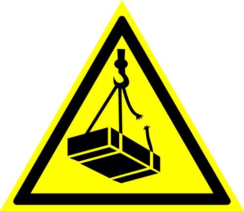 Знак для строительной площадки Возможно падение груза