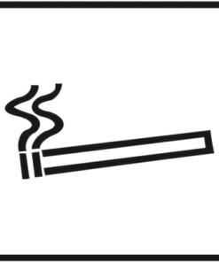 Знак 002 Разрешается курить