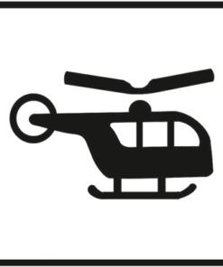 Знак 003 Вертолет