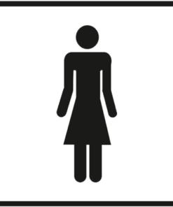 Знак 007 Женщина