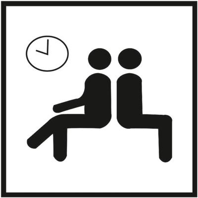 Знак 013 Зал ожидания