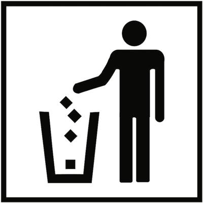 Знак 018 Мусорный ящик