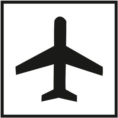 Знак 022 Самолет