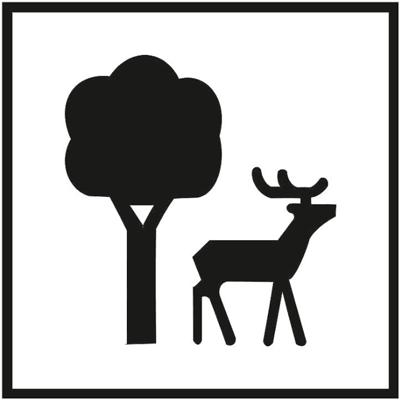 Знак 025 Особо охраняемая природная зона