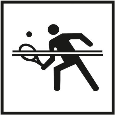Знак 047 Теннис