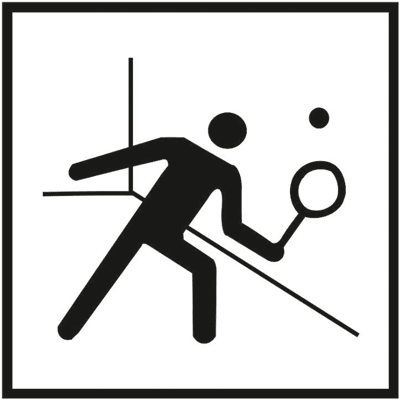 Знак 048 Сквош/ракетбол