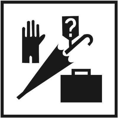 Знак 049 Бюро находок. Утерянные и найденные вещи