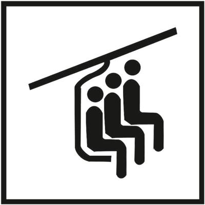 Знак 052 Телескопическое кресло на три места