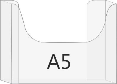 Карман А5 объемный горизонтальный