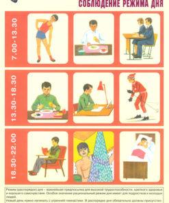 Комплект плакатов Укрепление здоровья