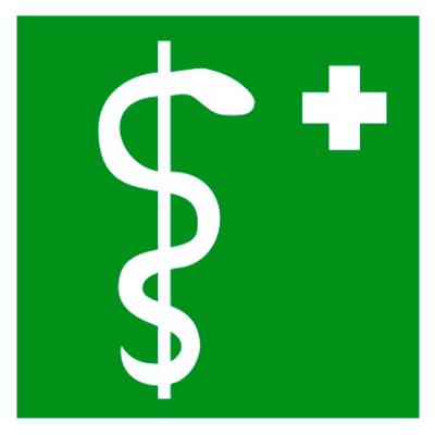 Медицинский знак Медицинский кабинет (EC 05)