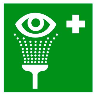 Медицинский знак Пункт обработки глаз (EC 04)