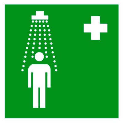 Медицинский знак Пункт приема гигиенических процедур (душевые) (EC 03)