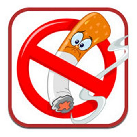 Наклейка Не курить 2