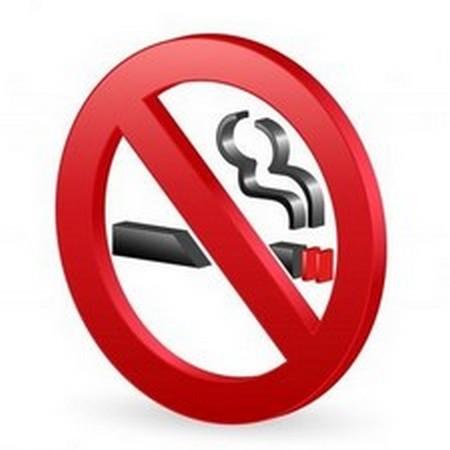 Наклейка Не курить 3