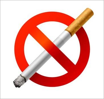 Наклейка Не курить 8