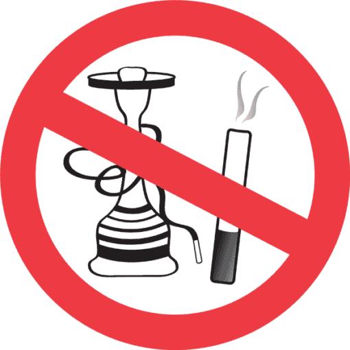 Наклейка Против курения
