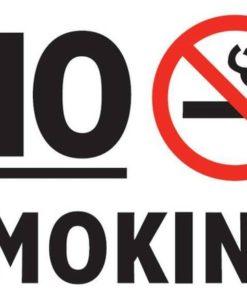 Наклейка No smoking 11