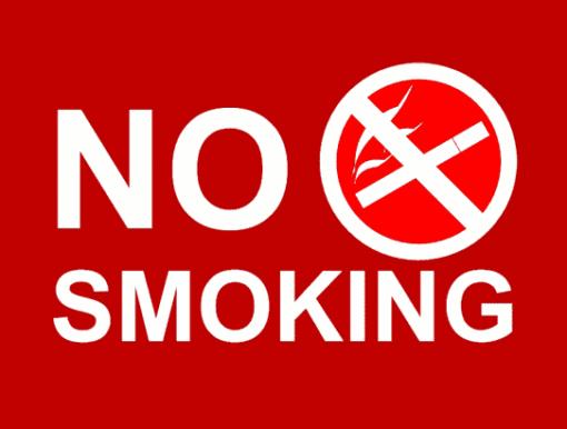 Наклейка No smoking 7