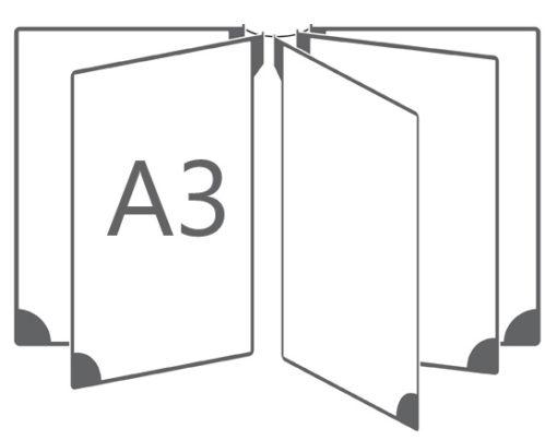 Настенная перекидная система (5 секций)