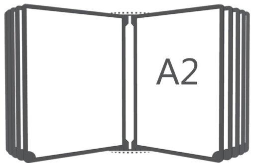 Перекидная система настенная А2