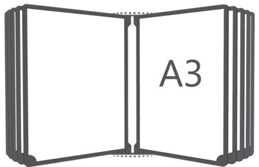 Перекидная система настенная А3
