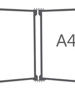 Перекидная система на 5 карманов А4
