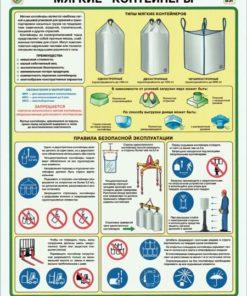 Плакат Мягкие контейнеры