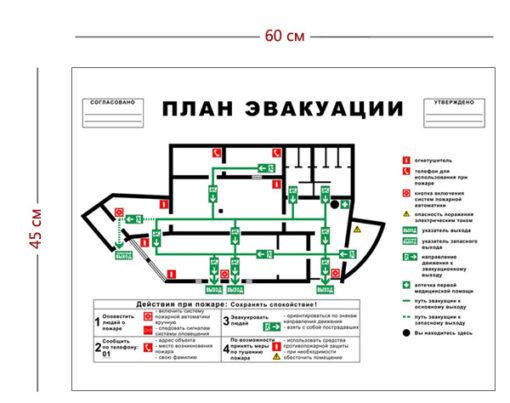 План эвакуации объекта