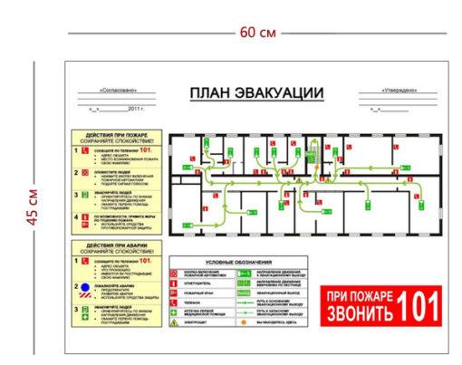 План эвакуации организации
