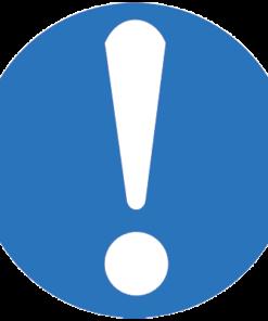 Предписывающий знак Общий предписывающий знак (прочие предписания) (M11)