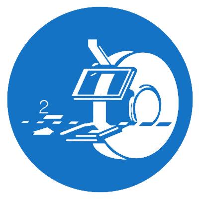 Предписывающий знак (M 39)