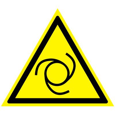 Предупреждающий знак Внимание! Автоматическое включение (запуск) оборудования W 25