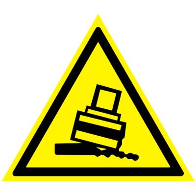 Предупреждающий знак Осторожно! Возможно опрокидывание W 24