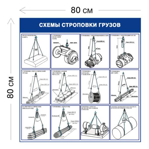 Схемы строповки листового металла ССГ29