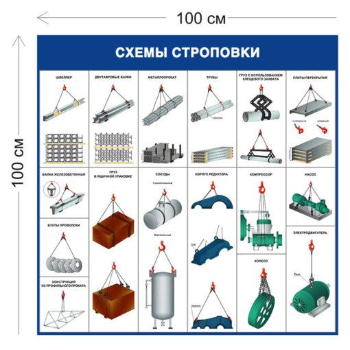 Схемы строповки насоса ССГ08