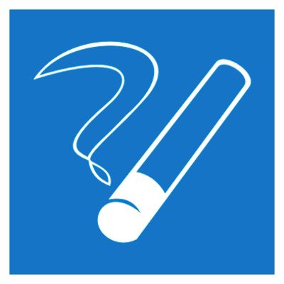 Указательный знак Место курения (D 03)